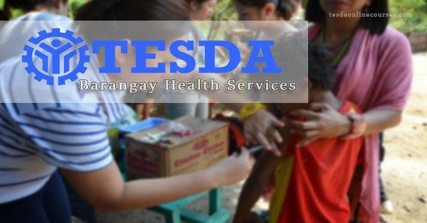 TESDA Offers Barangay Health Services NC II