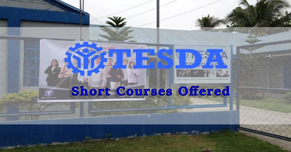 List of TESDA Short Courses 2017