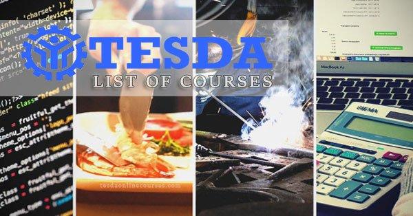 NC2 TESDA and List of TESDA Courses Offered