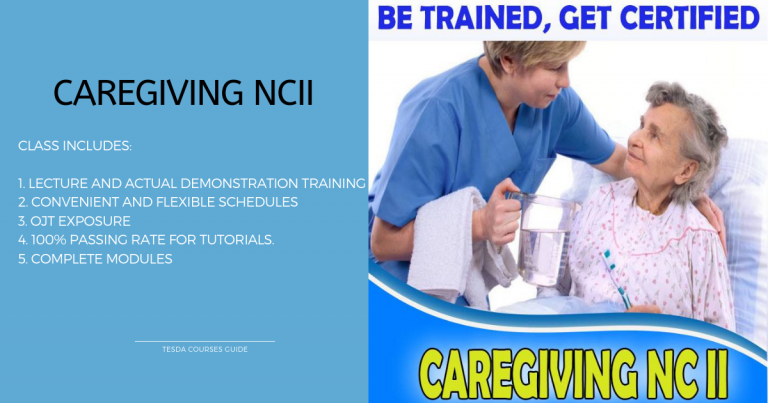 MV Technical Hub Offer Tutorials and Assessment for Caregiving NC II