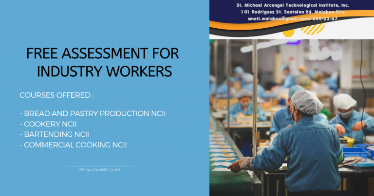 Free Assessment for Industry Workers