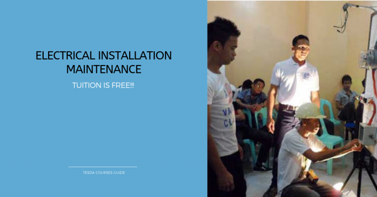 Free Tuition for Electrical Installation Maintenance Course